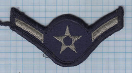 USA / Patch Abzeichen Parche Ecusson / United States Military Air Force Insignia, First Class A1C Rank. - Ecussons Tissu