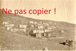 PHOTO FRANÇAISE - LE VILLAGE DE PISODERI - Vígla Pissodéri Πισοδέρι PRES DE FLORINA Φλώρινα - GRECE GUERRE 1914 1918 - 1914-18