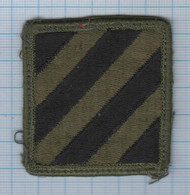 USA / Patch Abzeichen Parche Ecusson / United States Of America Military US Army 3rd Infantry Division. - Ecussons Tissu