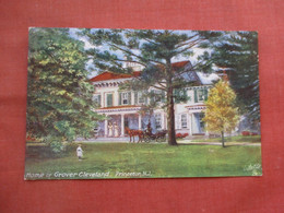 Tuck Series. Home Of Grover Cleveland Princeton.     New Jersey       Ref 5221 - Non Classés