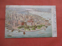 Tuck Series. -Birds Eye View Southern Portion Of The City.    New York > New York City       Ref 5221 - Non Classés