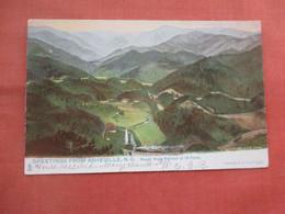 Tuck Series.-  Round Knob Railroad At 18 Points.   Asheville   North Carolina  Has 1908 Christmas Seal      Ref 5222 - Asheville