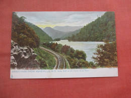 Tuck Series.-Indian Bluff On The French Broad River.   Asheville   North Carolina      Ref 5222 - Asheville