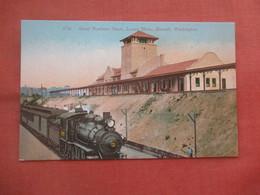 Great Northern Depot. Everett- Washington >        Ref 5222 - Non Classés