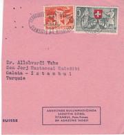 Vorbeugen Heilen Verjüngen - Schweizer Heilbäder Schaffhausen 1953 - Autobahn Brücken Confoederatio Helvetica - Thermalisme