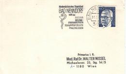 Bad Nenndorf 1988 - Niedersachsen Staatsbad - Rheuma Gelenk Schuppenflechte Frauenleiden - Heinemann - Thermalisme