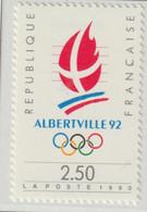 France 1992 Albertville Olympic Games MNH/** (H72) - Invierno 1992: Albertville