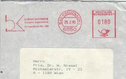 6550 Bad Kreuznach 1985 Barbara Kratzenberg Kongress-Organisation Humperdinck-Strasse - Thermalisme