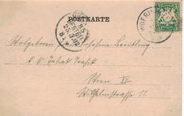 Wörishofen Bayern 1902 - SW AK Kurhauspromenade - Thermalisme