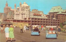 Alte  AK   ATLANTIC  CITY / USA   - Rolling Chairs -  1950 Ca. Gelaufen - Atlantic City