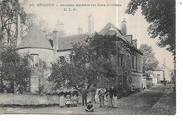 51 - SEZANNE - Ancienne Résidence Des Ducs D'Orléans  (Très Animée) - Other Municipalities