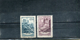 Chine 1954 Yt 1023-1024 * Aciérie D'An-shan - Ungebraucht