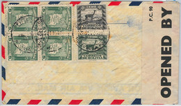 65414 - BOLIVIA -  Postal History -  COVER To GB With BRITISH CENSOR TAPE! 1940 - Bolivien