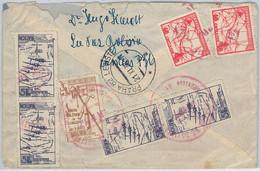 65413 - BOLIVIA -  Postal History -  AIRMAIL COVER To CZECHOSLOVAKIA ! 1938 - Bolivien