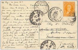 65411 - BOLIVIA -  Postal History -  POSTCARD To FRANCE : REDIRECTED! 1913 - Bolivien