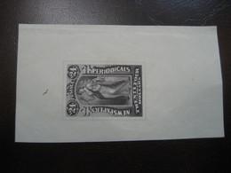 24 Dollars NEWSPAPERS Periodicals FALSCH Stamp Imperforated Proof USA - Varietà, Errori & Curiosità