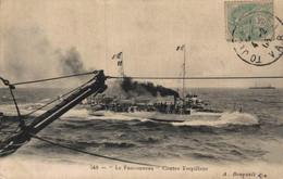 """MARINE DE GUERRE    CPA   Le """"Fauconneau"""" Contre-Torpilleur - Guerre"""