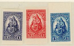 KESKENY MADONNA Vágott Postatiszta Sor 1926 - Ungebraucht