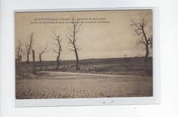 DEP. 62 NEUVILLE-ST-VAAST N°13 LA TARGETTE 1919 ROUTE DE MAROEUIL LE LONG DE LAQUELLE SE TROUVE LE CIMETIERE - Oorlogsbegraafplaatsen