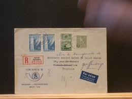 95/699  LETTRE RECOMM. POUR LA BELG. - Briefe U. Dokumente