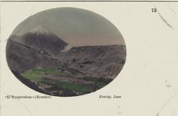EQUATEUR ECUADOR EL TUNGURAHUA 1909 - Equateur
