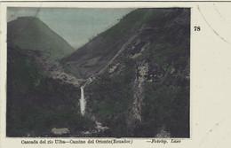 EQUATEUR ECUADOR CASCADA DEL RIO ULBA CAMINO DEL ORIENTE 1909 - Equateur