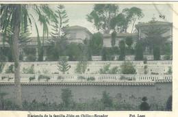EQUATEUR ECUADOR HACIENDA DE LA FAMILIA JIJON EN CHILLO 1909 - Equateur