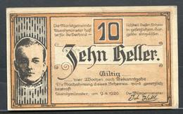 344-Aurolzmunster 10 Et 50h 1920 - Austria