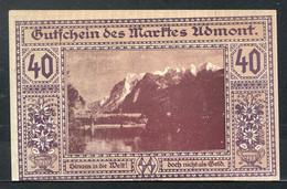 257-Admont Steiermark 40, 60 Et 80h 1920 - Austria
