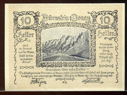 344-Duernstein 10, 20 Et 50h 1920 - Austria