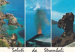 (R544) - STROMBOLI (Isole Eolie, Messina) - Multivedute - Messina
