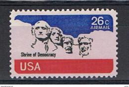 U.S.A.:  1974  P.A.  MEMORIALE  -  26 C. BLU, ROSSO  E  NERO  N. -  YV/TELL. 81 - 3b. 1961-... Unused