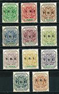 Transvaal (Británica) Nº 124/34 Cat.25€ - Transvaal (1870-1909)