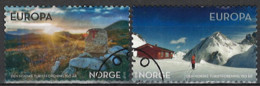 Norwegen Norway 2018. Mi.Nr. 1973-1974, Used O - Usados