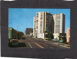 104915   Stati  Uniti, Long  Beach,  California,  Looking  West On East First  Street  Near  Allantic Avenue, NV(scritta - Long Beach