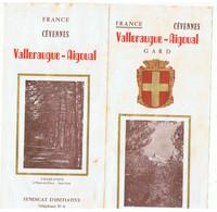 FRANCE Cévennes Valleaugue-Aigoual Gard - Dépliants Turistici