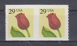 USA 1999 Tulip 1v (pair) ** Mnh (54111) - Ungebraucht