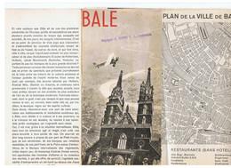 BALE SUISSE - Dépliants Turistici