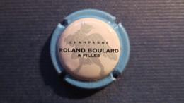 CAPSULE CHAMPAGNE ROLAND BOURLARD Et Filles. Contour Bleu - Non Classificati