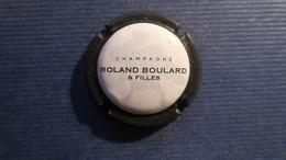 CAPSULE CHAMPAGNE ROLAND BOURLARD Et Filles. Contour Noir Mat - Non Classificati