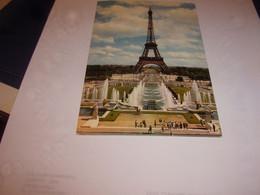 CPA CPSM  CARTE POSTALE  75 PARIS  TOUR EIFFEL - Eiffelturm