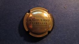 CAPSULE CHAMPAGNE J.M. GOULARD . Noir Et Or - Non Classificati