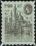 Royaume Uni Timbre Fictif Autocollant London 1980 International Stamp Exhibition Type II Scrapbooking - Scrapbooking