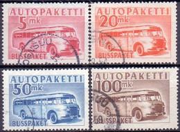 FINLAND 1952-58 Autopakette Zegels Serie GB-USED - Paketmarken