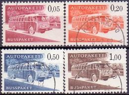 FINLAND 1963 Autopakette Zegels Serie GB-USED - Paketmarken