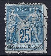FRANCE: Le Y&T 79, Obl. CAD - 1876-1898 Sage (Tipo II)