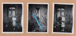 Dept 76 : ( Seine Maritime ) Saint Aubin Le Cauf, Photos, Façade De Maison, Porte, Militaire, Animée. - Andere