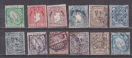 Q0129 - IRLANDE IRELAND Yv N°40/51 - Used Stamps