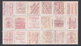 Nouvelle Zelande - 1893 - N° 60 1p Rose - Planchage 18 Timbres - Publicité - Advert - Reklame - Used Stamps