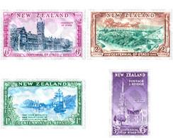 Ref. 126615 * MNH * - NEW ZEALAND. 1948. CENTENARY OF THE PROVINCE OF OTAGO . CENTENARIO DE LA PROVINCIA DE OTAGO - Unused Stamps
